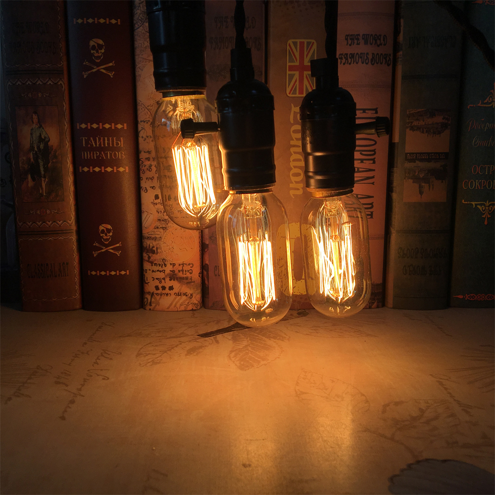 Lamp Socket Pendant Light T45 40w