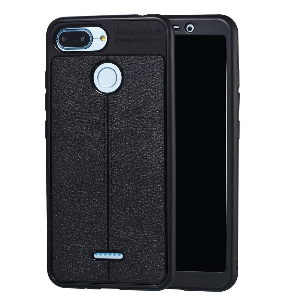 For Xiaomi 6x 8 8se Redmi 5 Plus 6 6pro Note 5pro Pu Tpu Phone Back Auto Focus Pro New Leather Case Cover 5a 5plus 6a