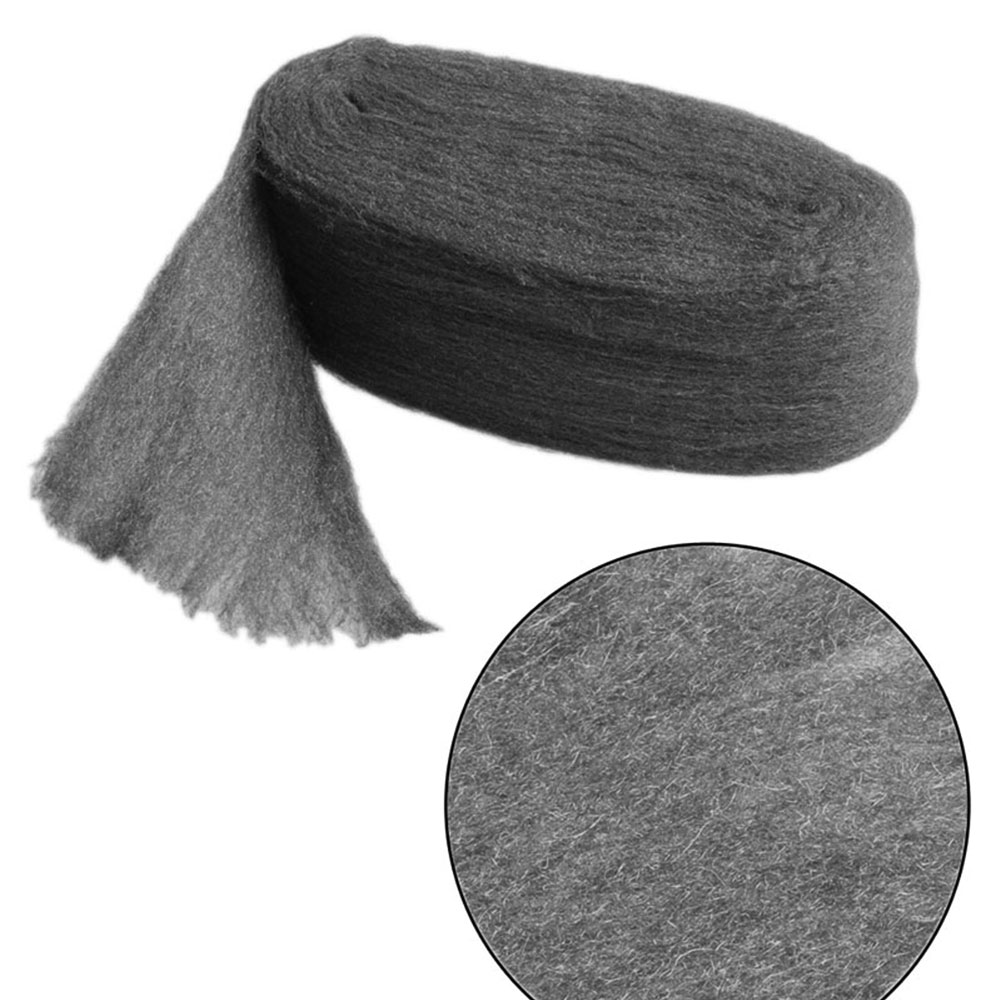 0000 Stainless Steel Wool Pads: Hot 3.3m Steel Wire Wool Pads Polishing Cleaning Rust