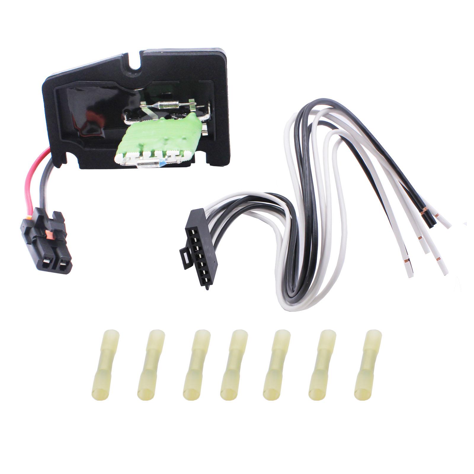 HVAC Heater Blower Motor Resistor w/ Harness For Oldsmobile Buick Chevy |  eBayeBay