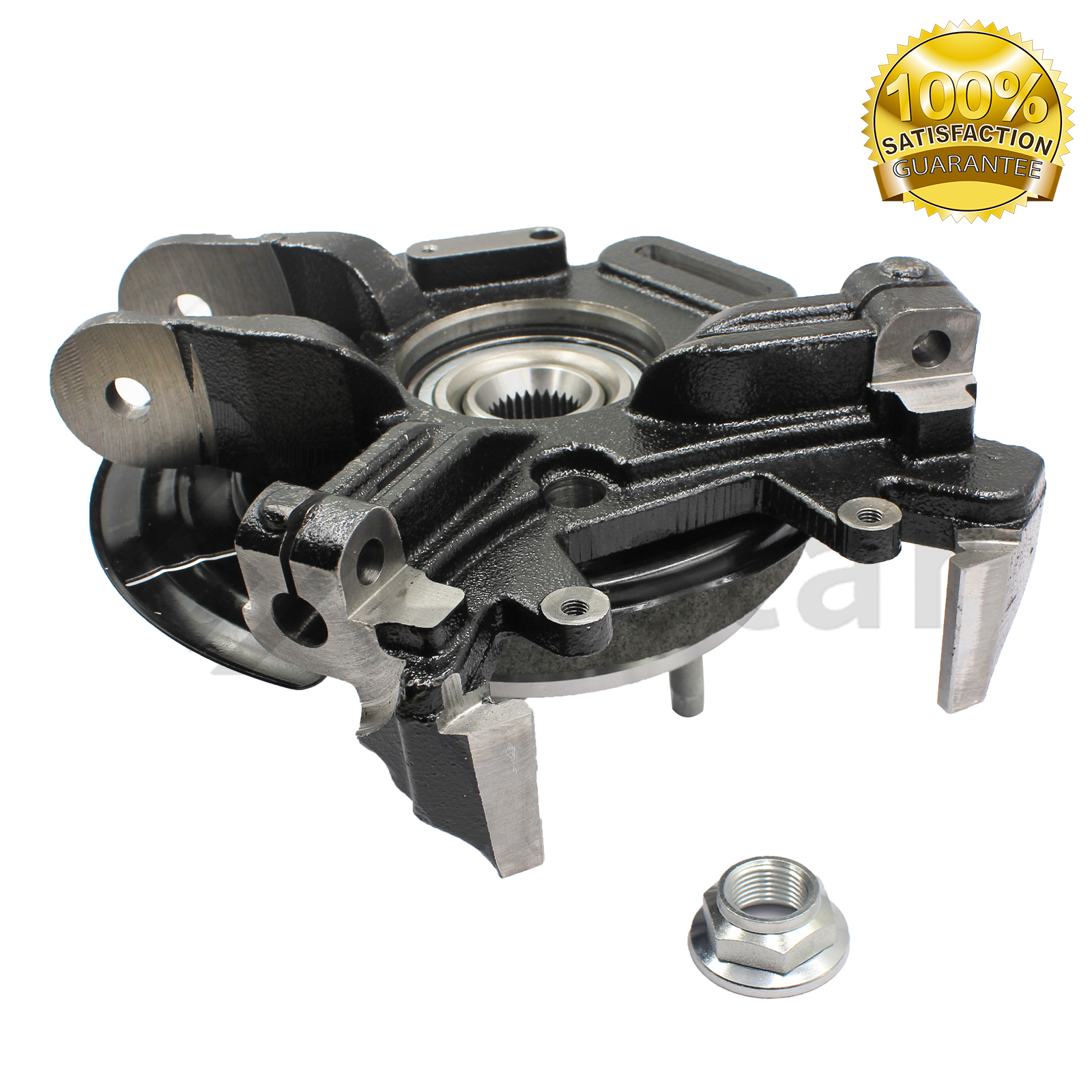 Rear Left Driver Side Steering Knuckle Compatible with 2002-2005 Ford Explorer Mercury Mountaineer