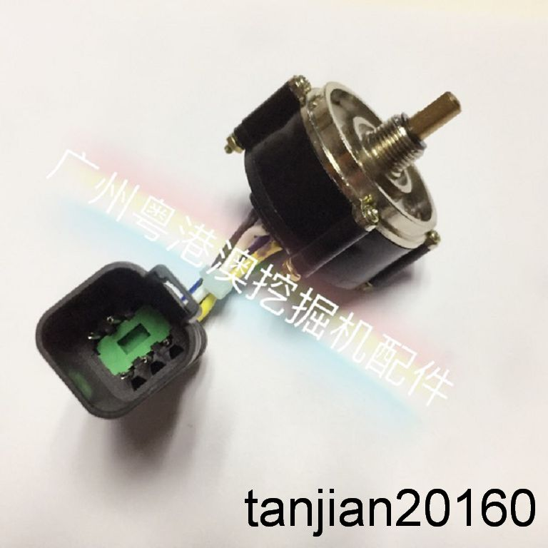 Details about Excavator Parts CAT Caterpillar E320B / C throttle motor oil  rotary switch knob