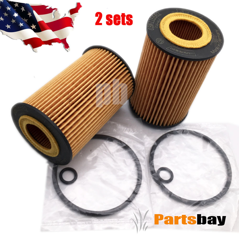 SET OF 2 PCS  OF5608 TOYOTA CAMRY,ES300H,RX350, IS ,SIENNA LEXUS OIL FILTER
