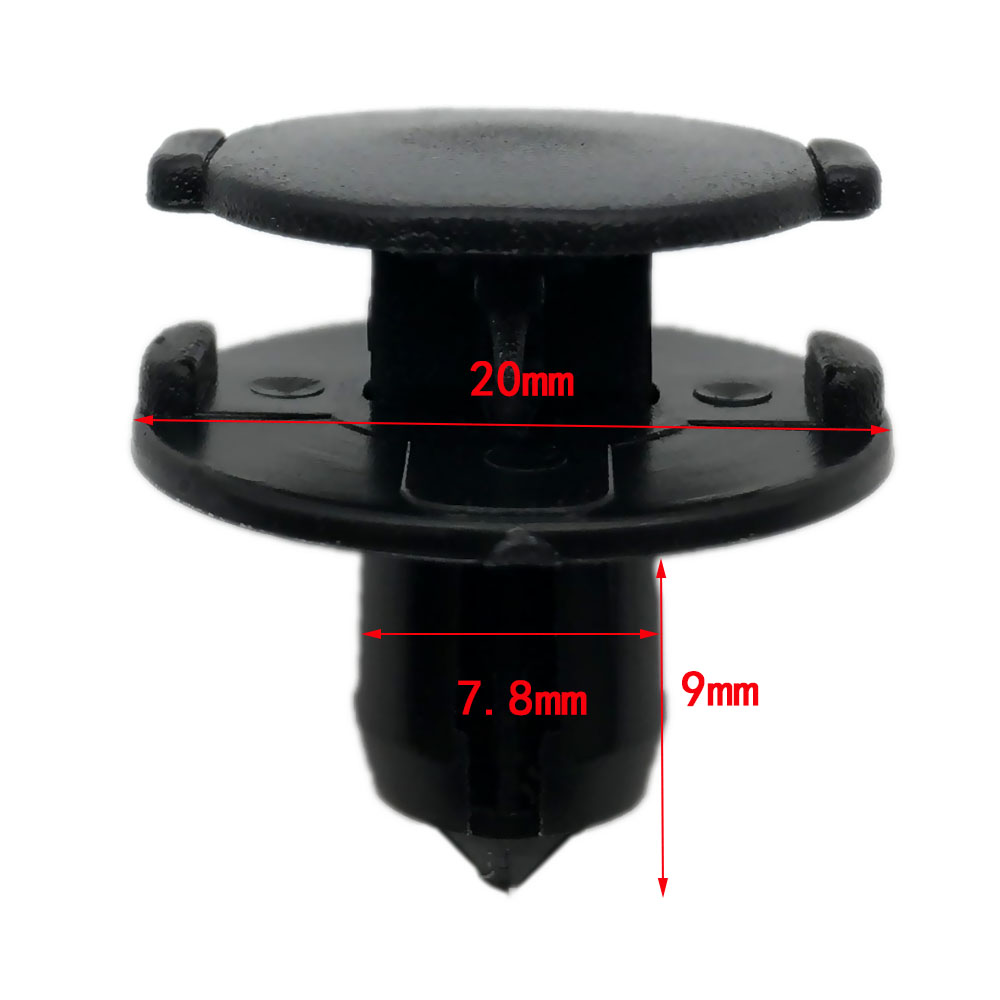 OEM Bumper or Splash Shield Push Clip Retainer Kit Set of 10 for Nissan Infiniti