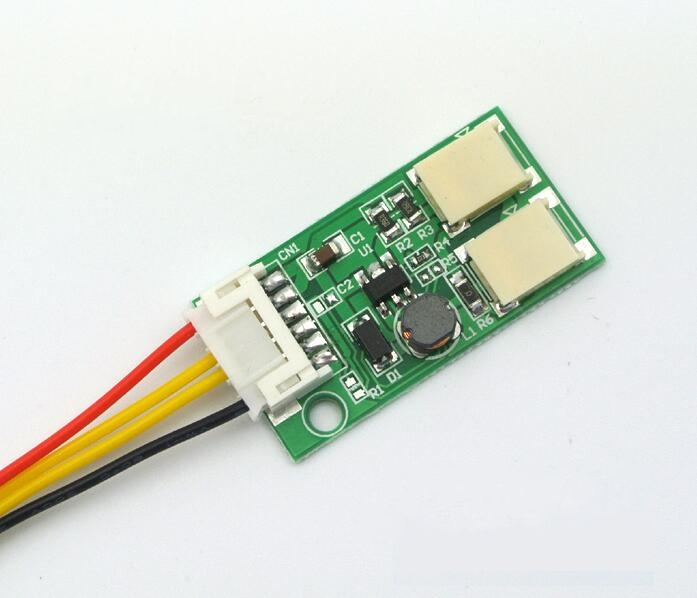 DC 10-30V to 9.6V Constant Current Dual Lamp LED Buck Drive Power Board