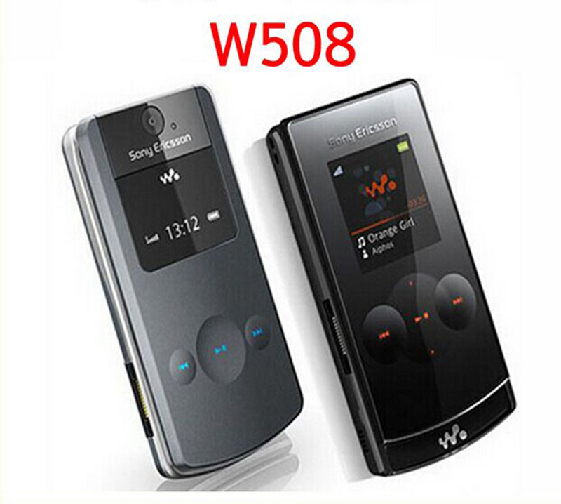 sony ericsson walkman flip phone. sony ericsson w508i walkman flip fold gsm stylish(unlocked)-black mobile phone t
