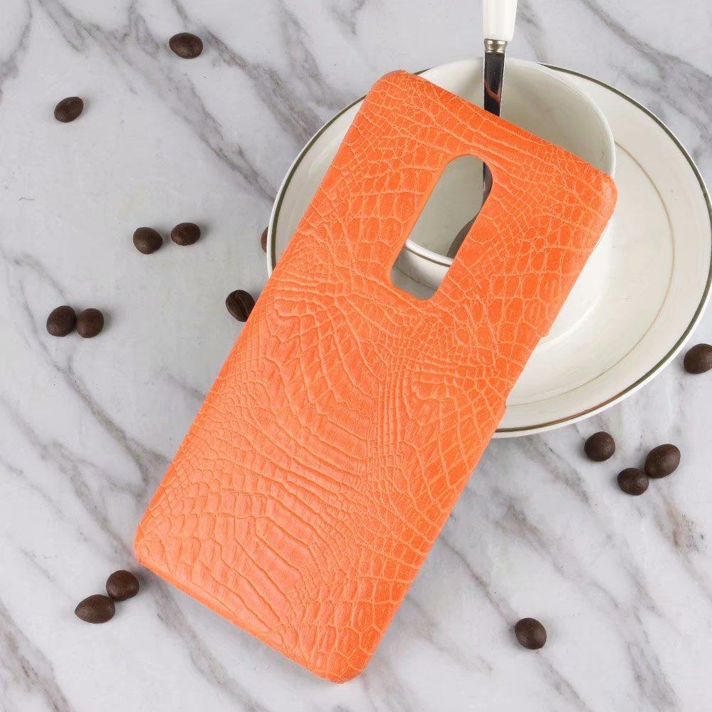 Luxury Ultra Thin Pu Leather Crocodile Skin Phone Bag Case For One Baseus Sky Oneplus Plus 6 Cover