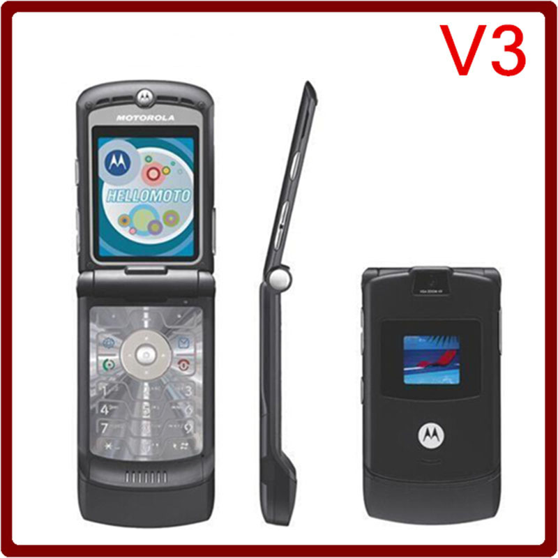 motorola flip phone 2007. 8 colour classic motorola razr v3 (unlocked) cellular flip phone gsm worldwide 2007