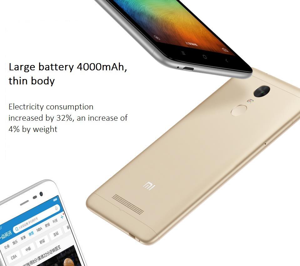 Original Xiaomi Redmi Note 3 Pro Snapdragon 650 Hexa Core 4g Lte 16gb Fingerprint Id