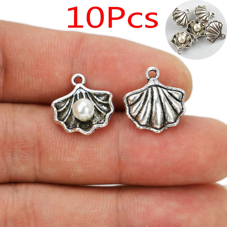 20 Tibetan silver spoon Charms Pendentif