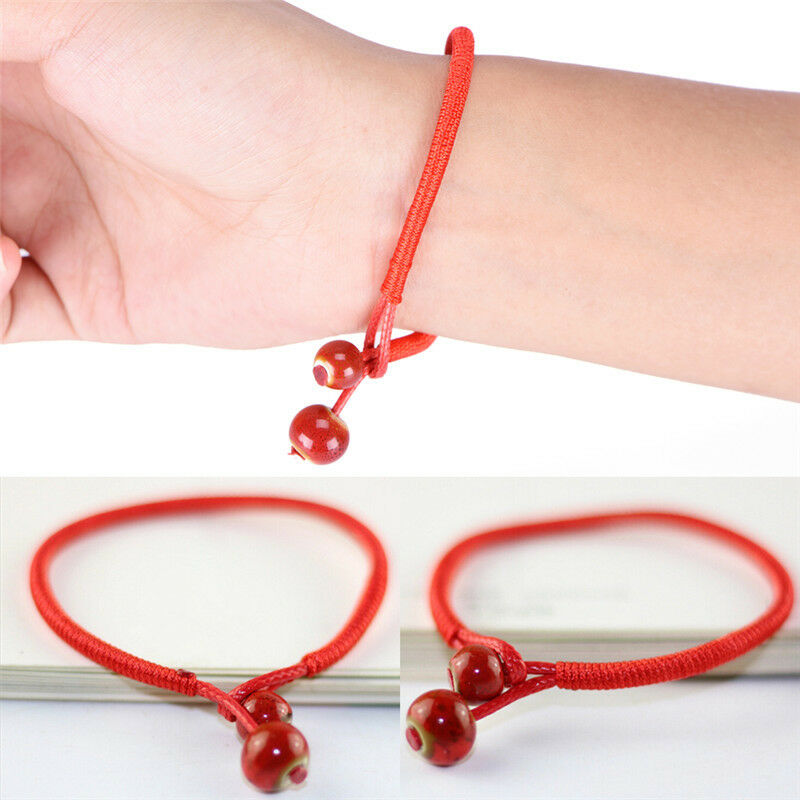 Bracelets Red Men Lucky Jewerly Red Strings  Bracelets bangles Red Strings Bracelet Lucky Men  Handmade Accesories Lovers
