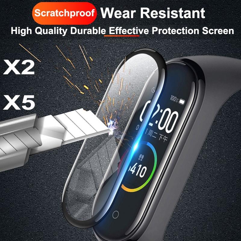 2x Full Cover Folie für Huawei Band 3 Pro 3D Full Edge Screen Display Schutz