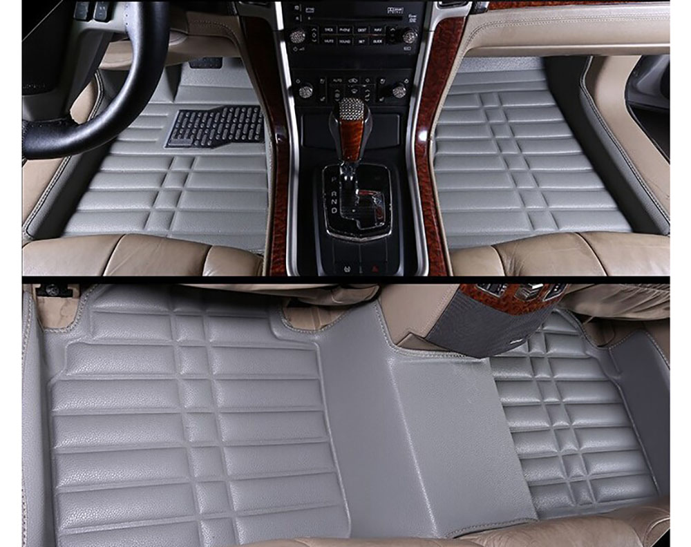 Floor mats jeep compass - Fly5d Car Floor Mats Front Rear Liner Auto Waterproof For Jeep Compass 2010 2015