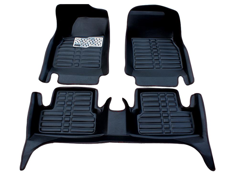 Interior Floor Mats & Carpets Black Floor Mats FloorLiner For Toyota Camry 2012-2016 Front & Rear All Weather