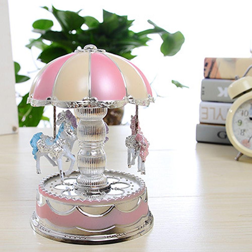 Toys for Girls Music Box Merry-Go-Round LED 6 7 8 9 10 11 ...