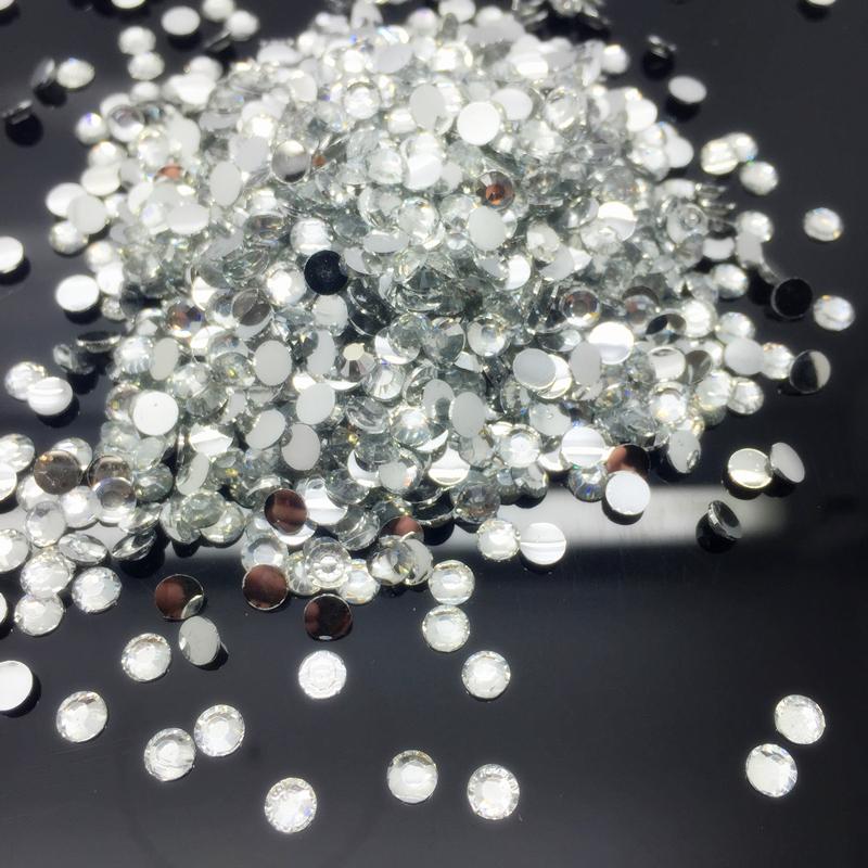 New 6mm//10mm//15mm STARS Resin Rhinestone Gems Flat Back Crystal Beads