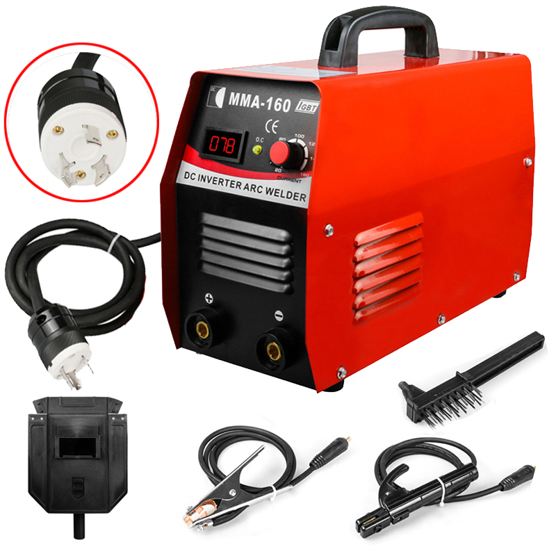 Details about Arc 110V IGBT Mini Inverter Welder Welding Machine MMA160  20-160A US Plug