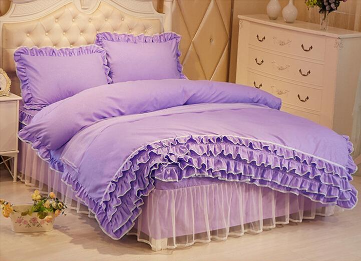 Lace-Princess-Bedding-Quilt-Cover-Duvet-Cover-Set-Single-Queen-King-Size