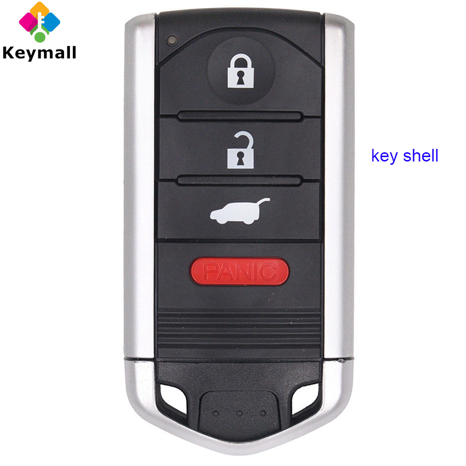 For Acura TL ZDX RDX ILX TL Remote Key Shell Case Fob For