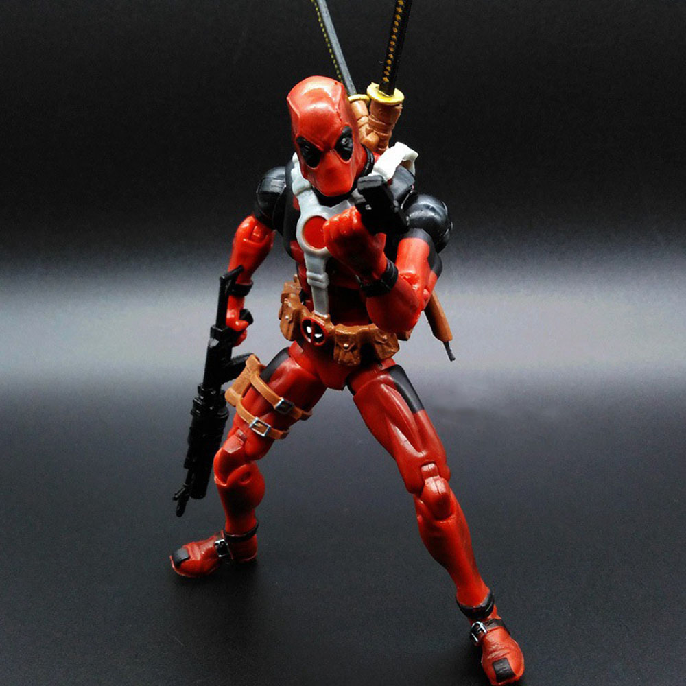 Anime DEADPOOL  X-Men  Action Figure Toy Models 16 CM High  PVC Doll