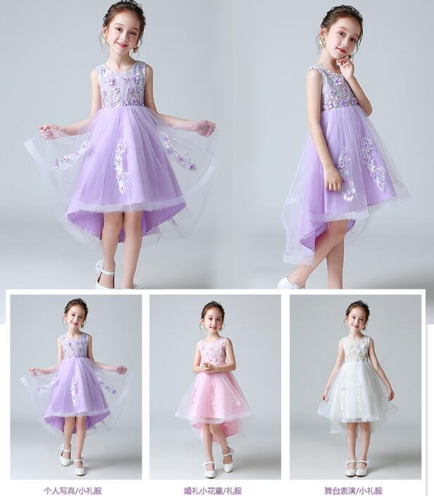 Flower Girl Dress Princess Dress Kid Party Wedding Pageant Formal