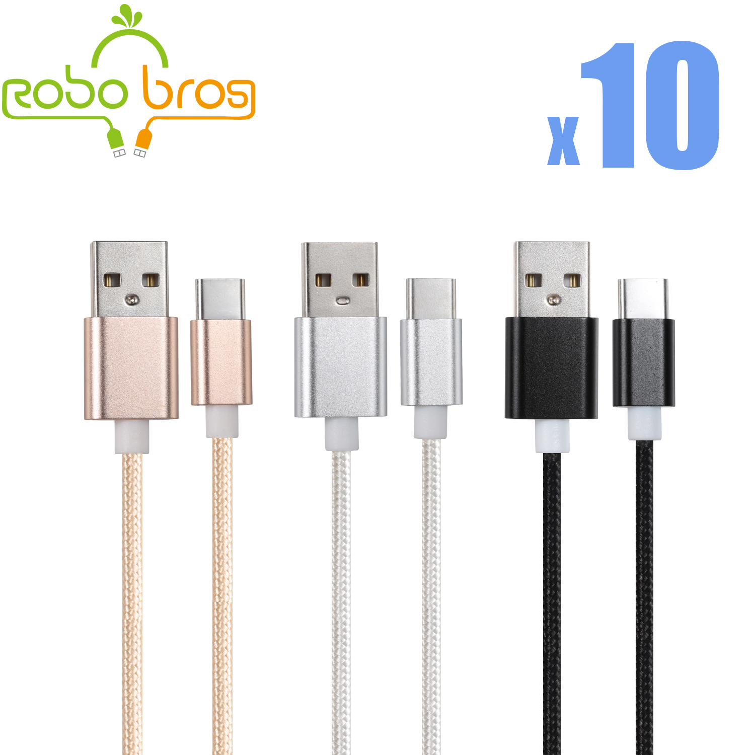 c9cbb840d20 Details about 4X 5FT USB-C Type-C 3.1 Data Sync Charger Charging Cable Cord  for Samsung S8