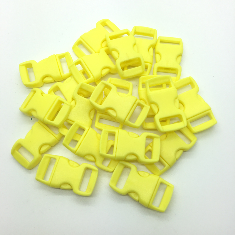 10-50-100pcs-3-8-034-Contoured-Side-Release-For-Paracord-Bracelet-Plastic-Buckle-UK