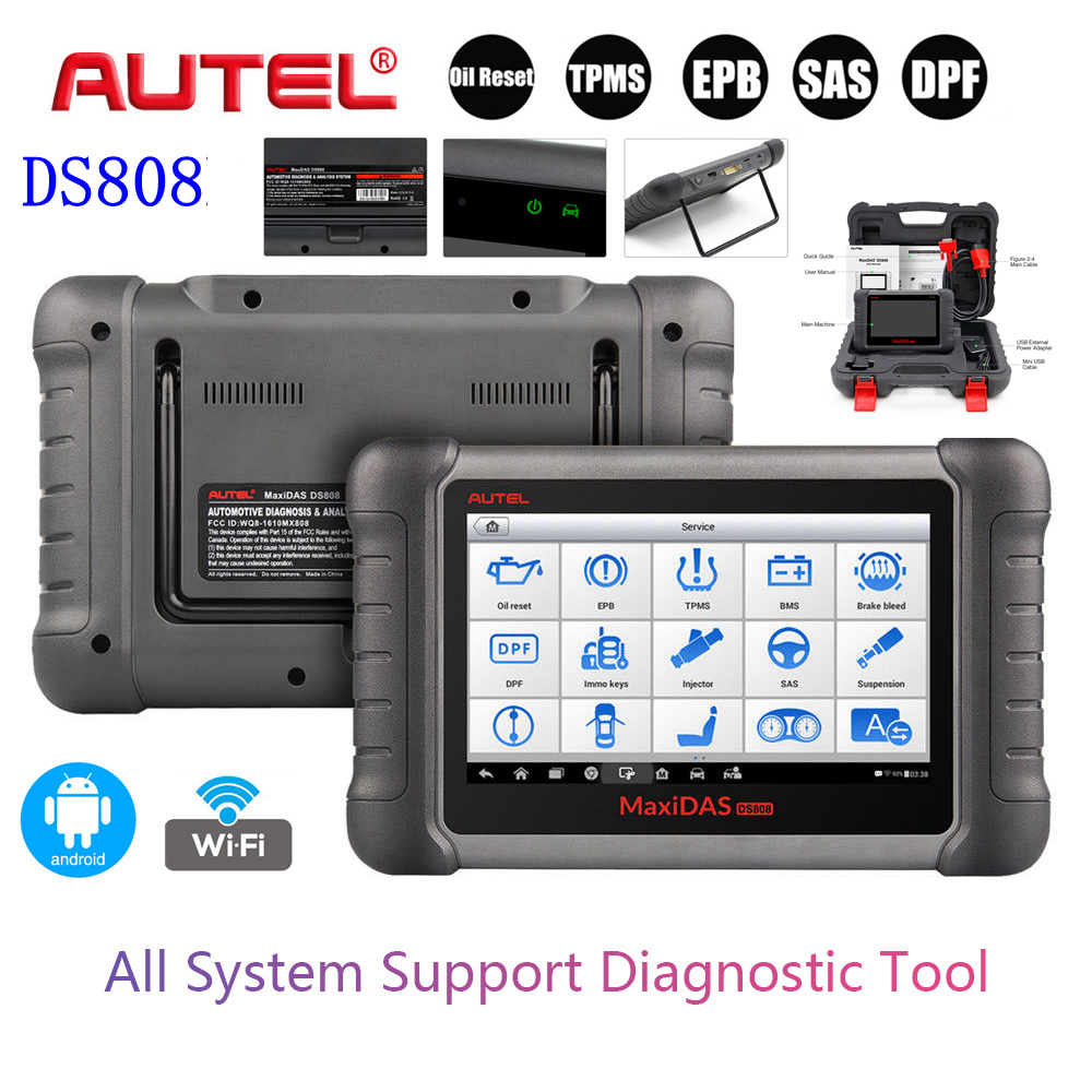 ds808 autel obd2 auto diagnoseger t scanner. Black Bedroom Furniture Sets. Home Design Ideas