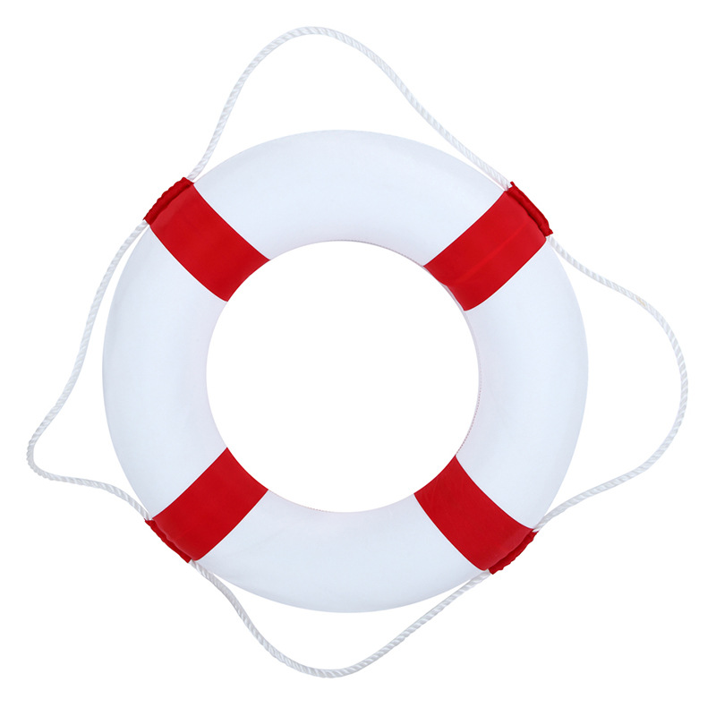 Swimming Pool Safety Ring Lifeguard Buoy Life Preserver