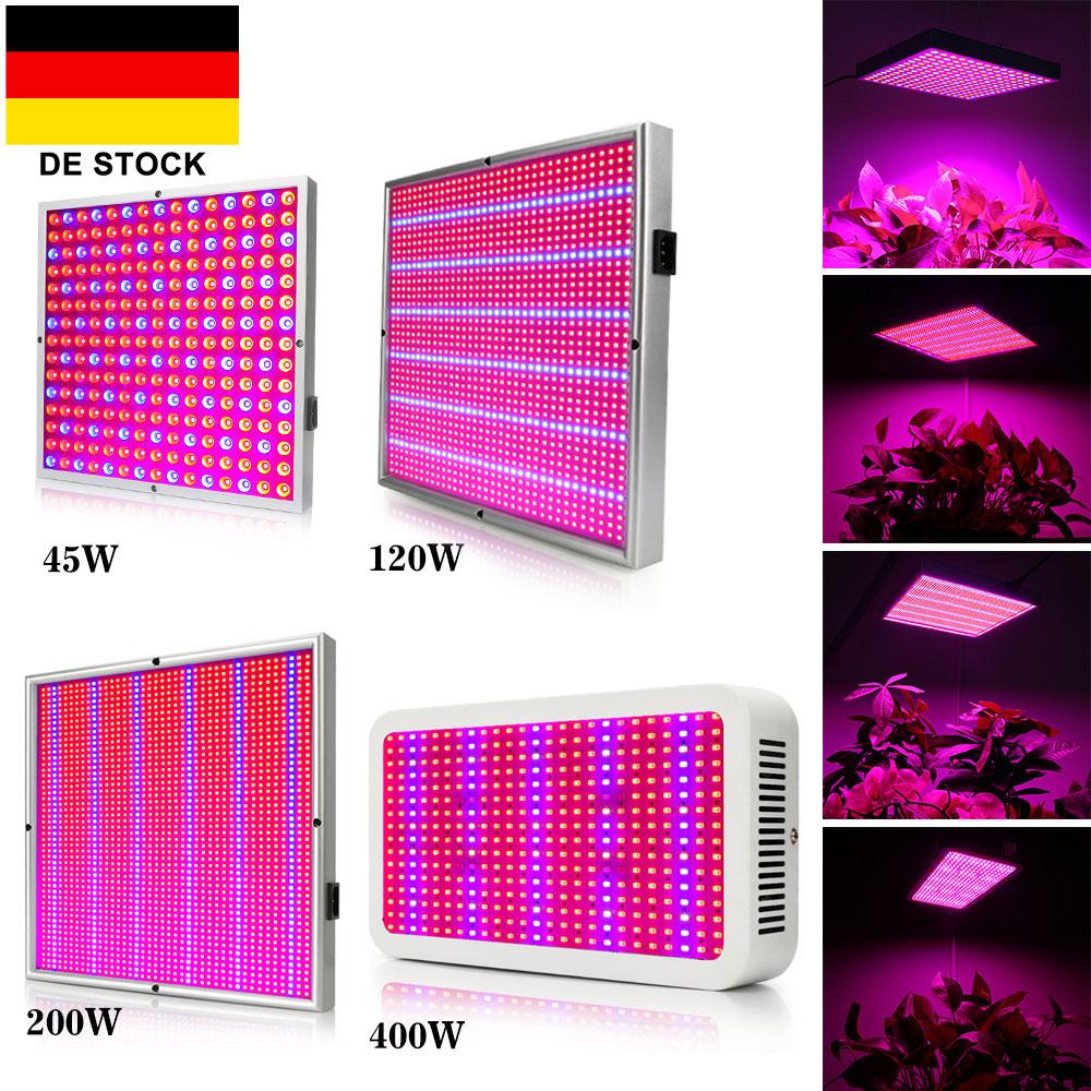 45W 120W 200W 400W LED Pflanzenleuchte Pflanzenlicht Wachstumslampe Grow Lampe