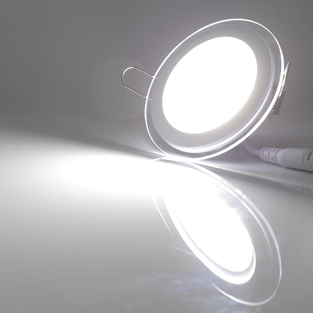 Ultraslim LED Panel Lampe Deckenleuchte Einbauleuchte Einbaustrahler ...