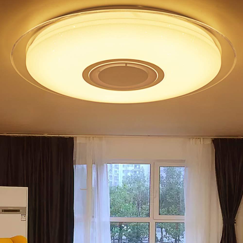 APP Remote 110-240V DHL 36W 72 LED Deckenlampe Dimmbarer Bluetooth Lautsprecher