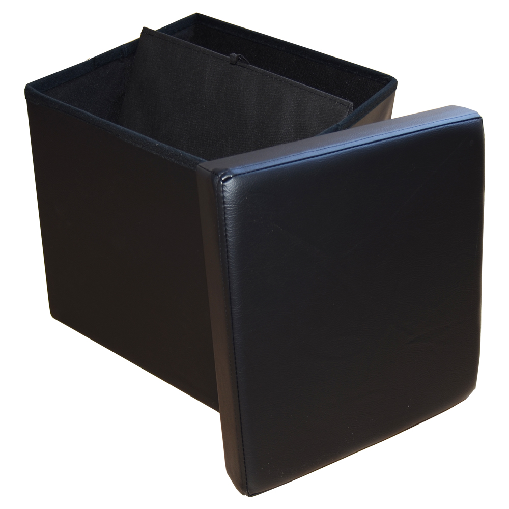 Style Home Stool Seat Cube Storage Box Foldable Bench