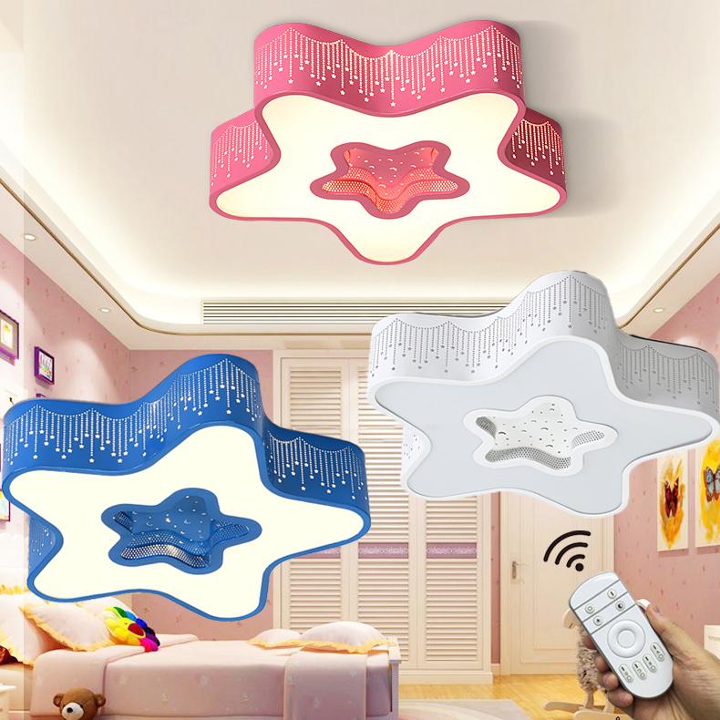 Stylehome Led Lampe Kinder Sternform Kinderzimmer Deckenlampe