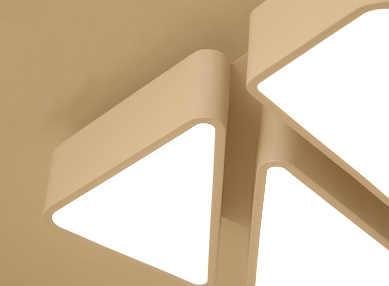 led 48w deckenleuchte modern design dimmbar schlafzimmer deckenlampe ps6958 l53 ebay. Black Bedroom Furniture Sets. Home Design Ideas