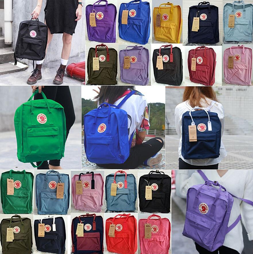 migliore a buon mercato db582 f399a Fjallraven Kanken Classic Backpack Zaino Bag Originali Zaini ...