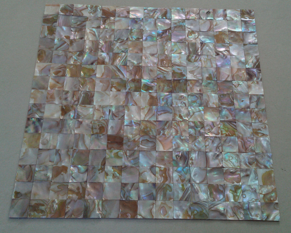 - Natural Shell Mosaic Tile Mother Of Pearl Kitchen Backsplash Wall