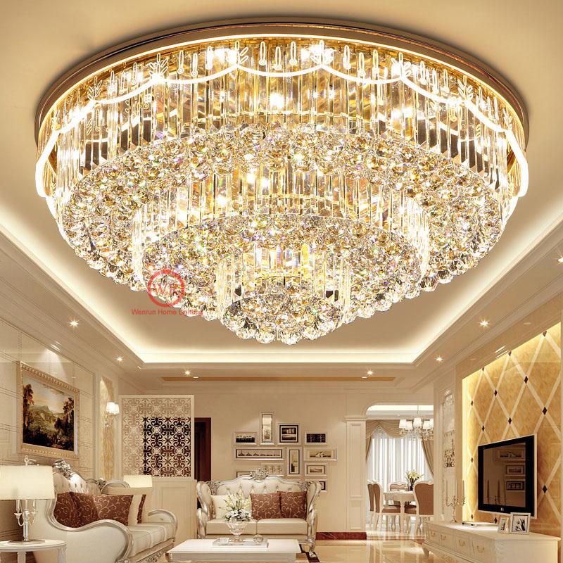 LED Wohnzimmer K9 Kristall Hängelampe Lüster Leuchte Kronleuchter ...