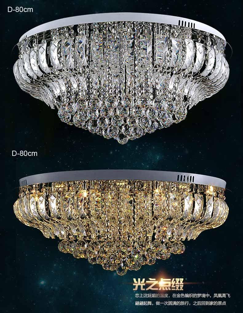 Luxus LED K9 Kristall Hängeleuchte Pendelleuchte Deckenleuchte ...
