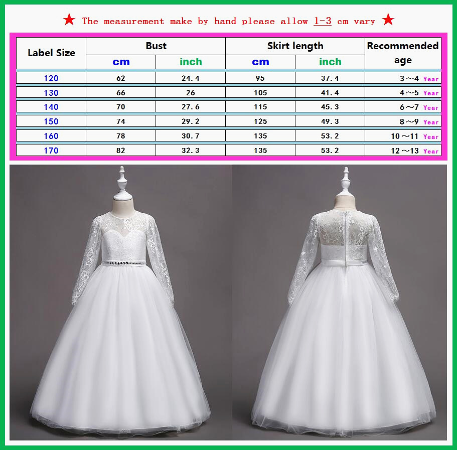 312d35c0e9e9 2018 Children s Flower Girls Ballgown Ballroom Bridesmaid Ball Gown ...