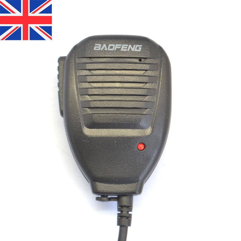 Heavy duty Handheld Shoulder Speaker Mic for BaoFeng UV-5R Kenwood Wouxun radio