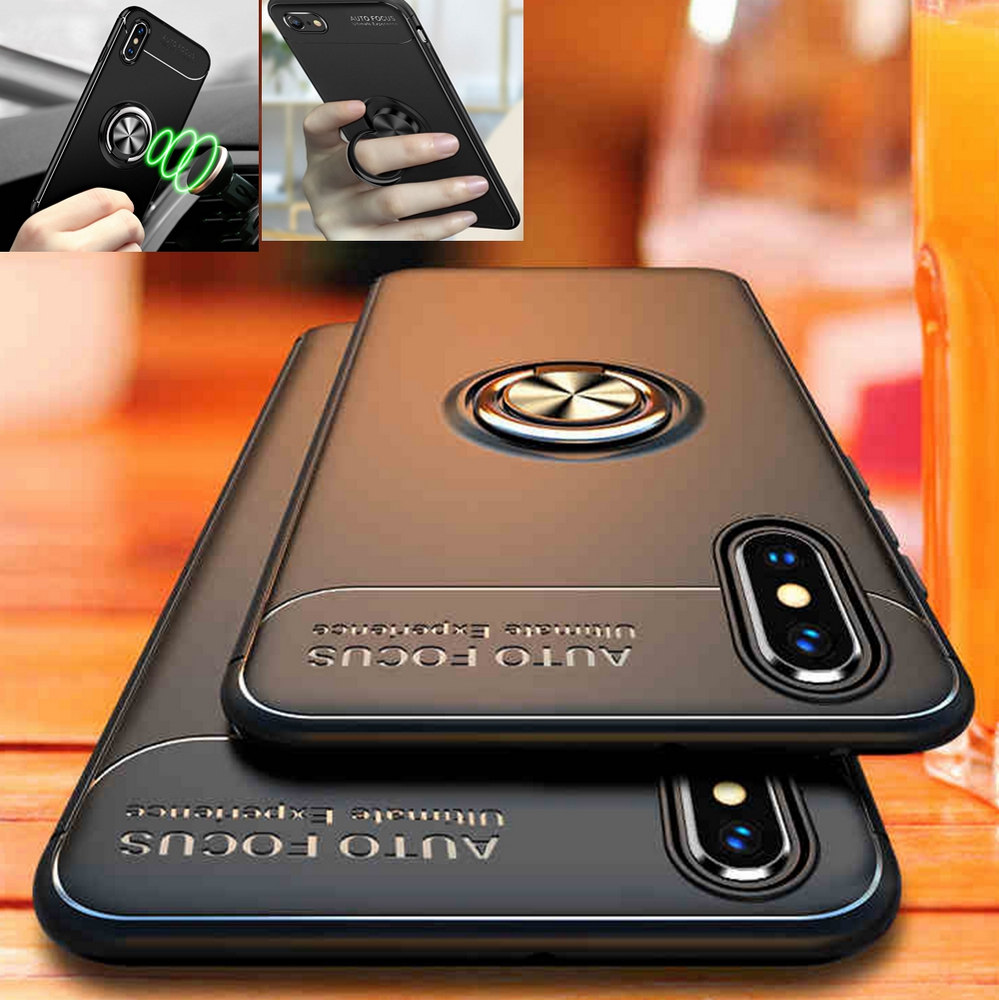 iphone xs max case with ring and finger loop