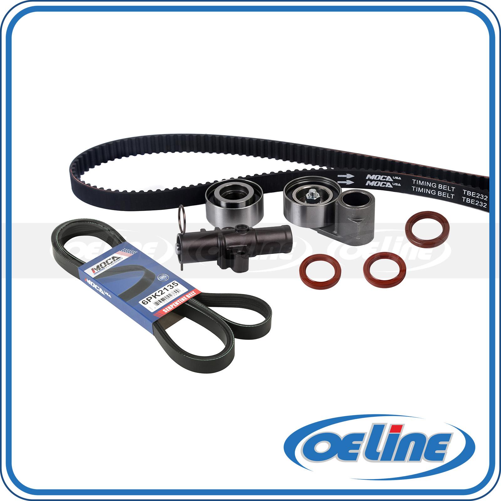 Timing Belt Kit Serpentine Belt For 03-08 Honda Pilot