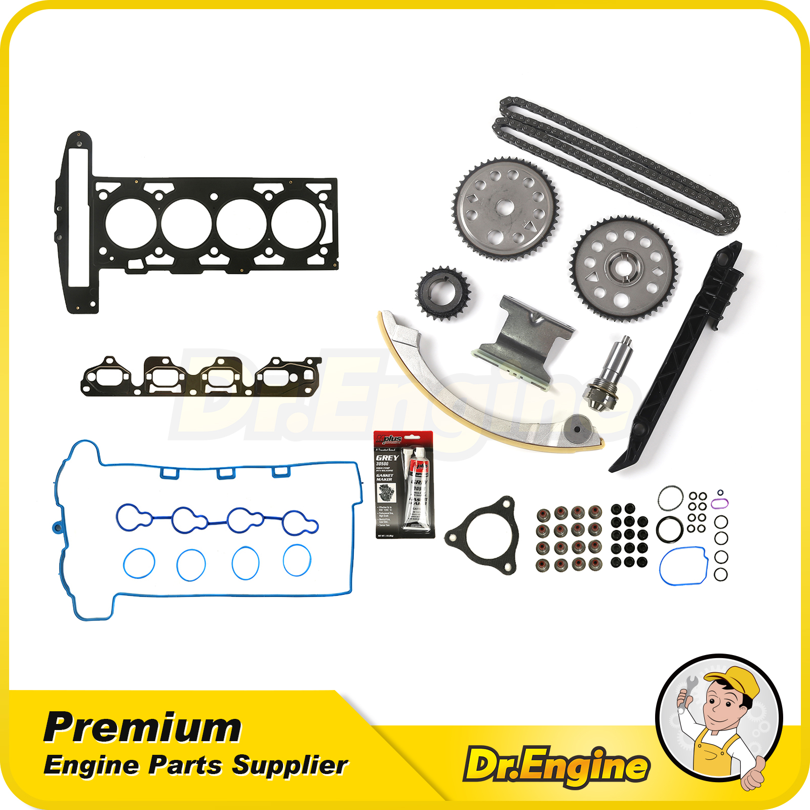 Head Gasket Set Timing Chain Kit For 07