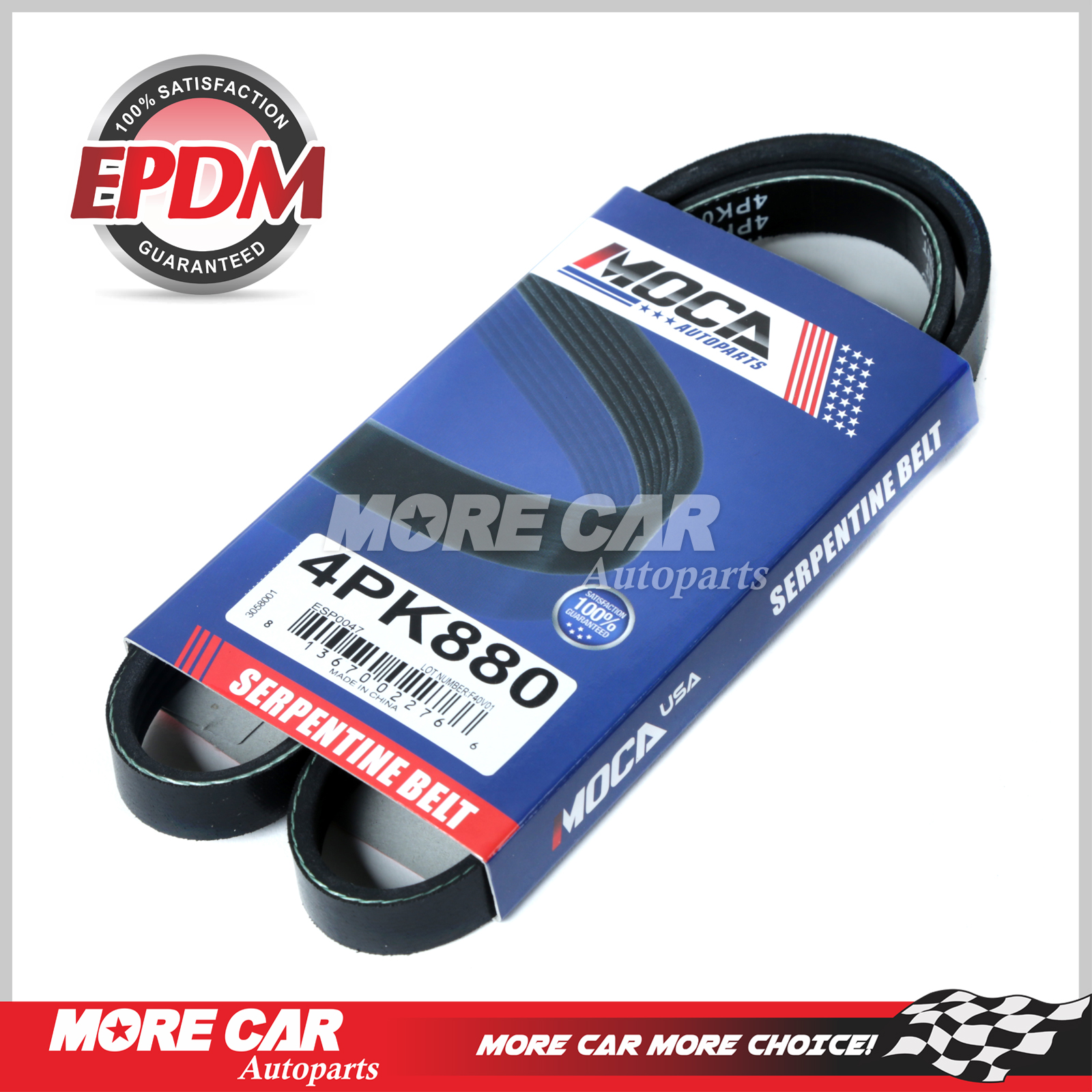 EPDM Fits 02-03 Toyota Camry 4-Door 3.0L V6 GAS DOHC