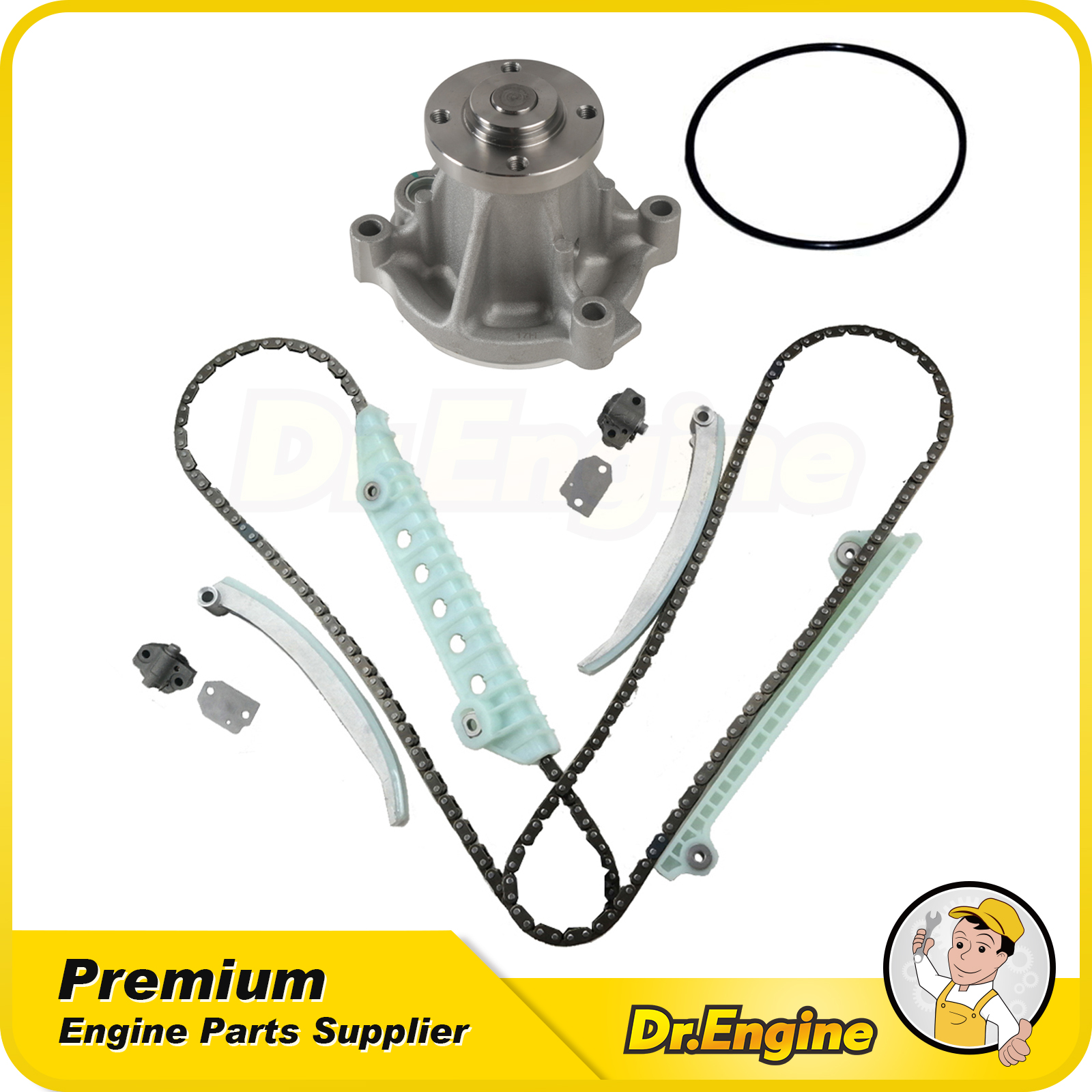Timing Chain Water Pump Kit Fit 1999