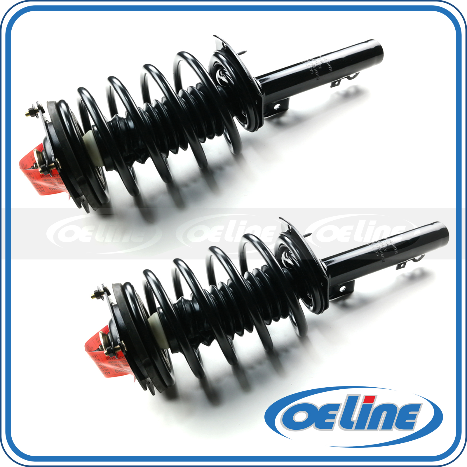 Pair Front Quick Complete Strut Assembly for 171615 1996-2007 Ford Taurus