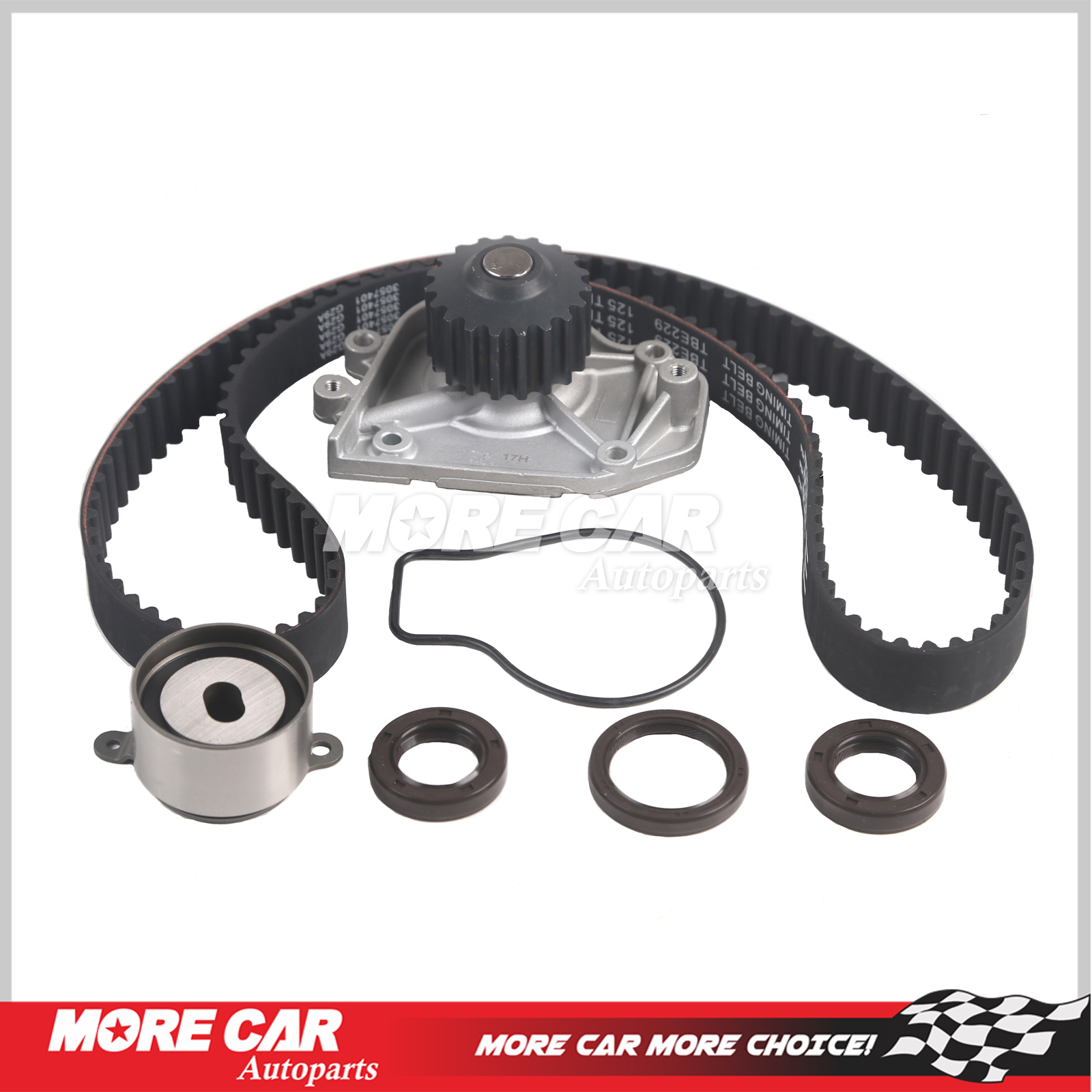 Timing Belt Kit Water Pump Set Fit 90-95 Acura Integra 1