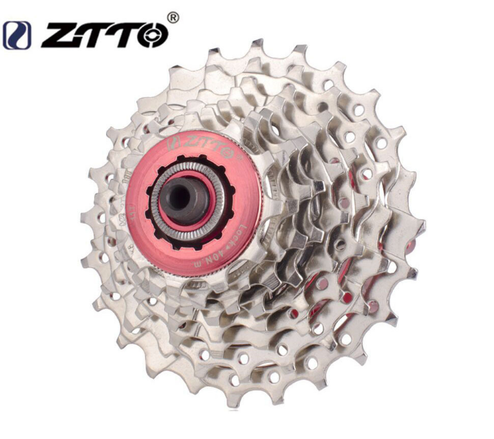 ZTTO 8//24 Speed Road Bike Cassette 11-25T Road Bicycle Freewheels Fit SHIMANO