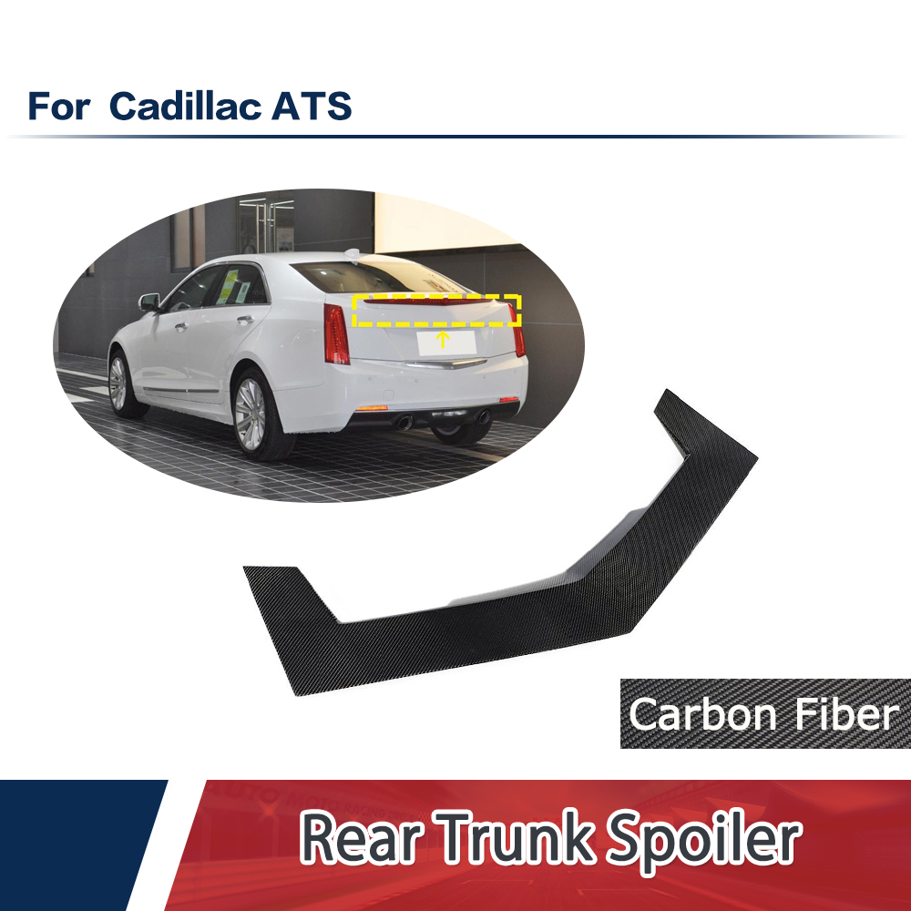 Fit For Cadillac ATS Sedan 2014-2019 Carbon Rear Trunk